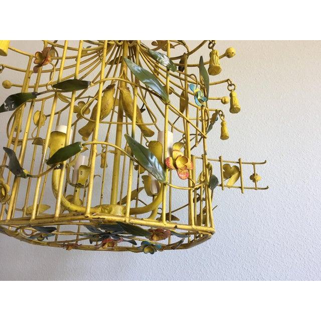 Italian Birdcage Chandelier - Image 3 of 8