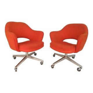 Eero Saarinen for Knoll Office Chairs - A Pair