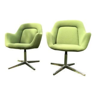 Max Pearson for Knoll International Chairs- A Pair