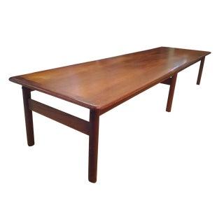 Vintage Dux Mid-Century Modern Teak Coffee Table