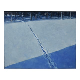 Stephen Remick Path in Snow Painting