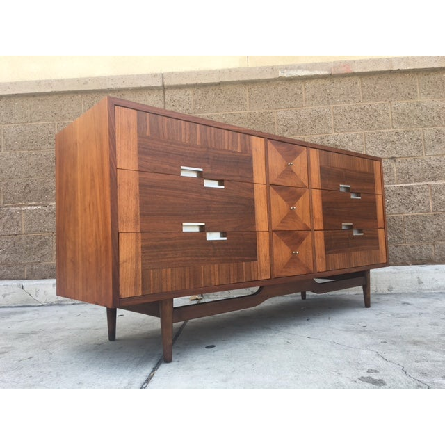Mid Century Dresser by American of Martinsville - Image 2 of 5