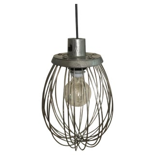 Industrial Whisk Pendant Light