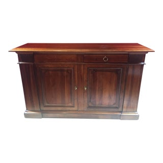 Buffet Serving Cabinet Table