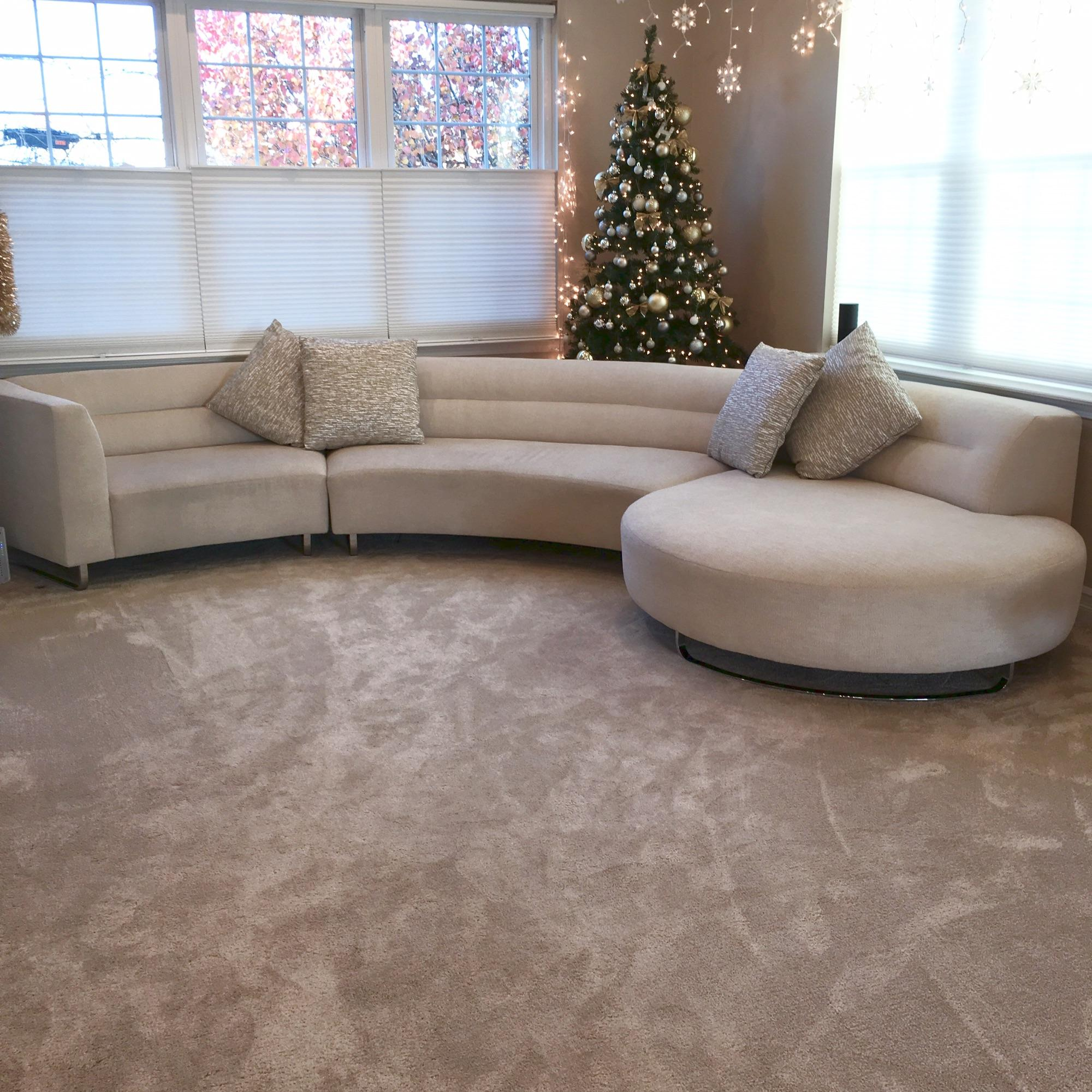 unique modern curved sectional chairish