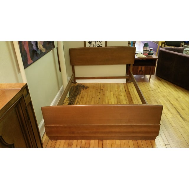 Heywood-Wakefield Sculptura Full Size Bed Frame - Image 2 of 3
