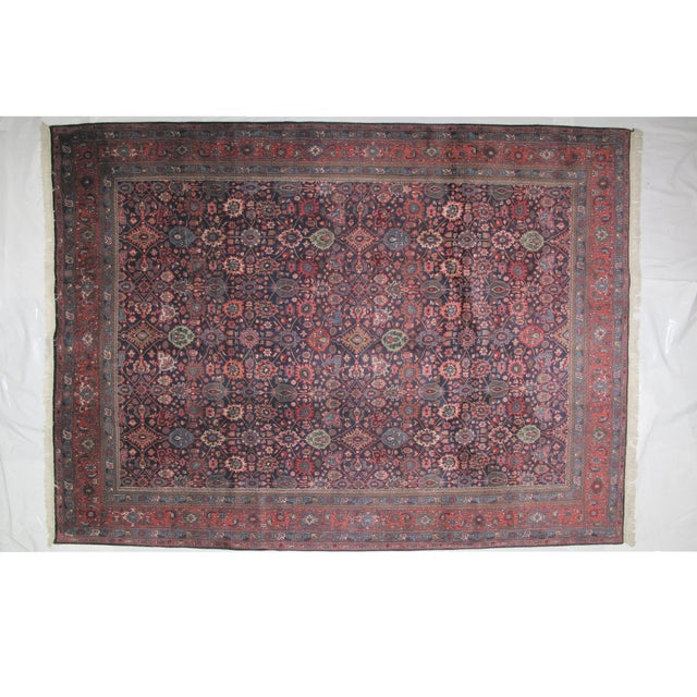 "Bijar Carpet - 11'10"" X 8'9"" - Image 2 of 6"