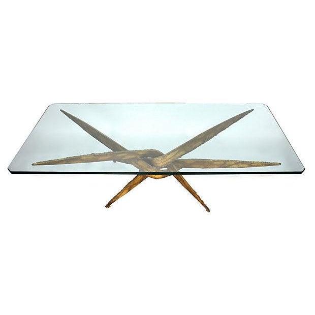 Image of Silas Seandel Torch-Cut Coffee Table