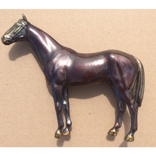 Vintage Copper Horse Statue - Image 2 of 8