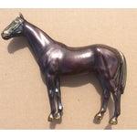 Image of Vintage Copper Horse Statue