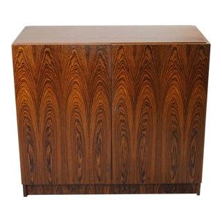 Mid-Century Modern Brazilian Rosewood Fold Away Desk