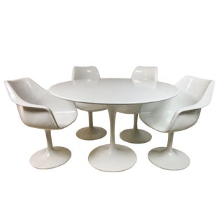 Knoll Style Tulip Dining Set