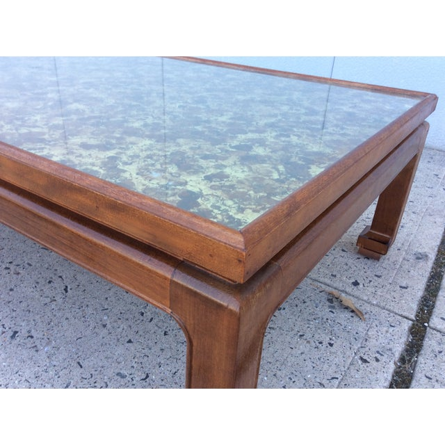 1960's James Mont Style Large Coffee Table - Image 10 of 11