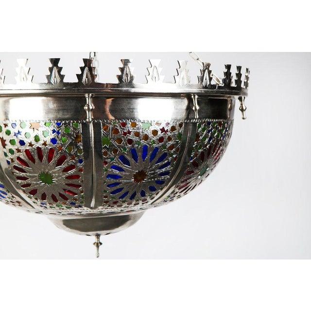 Boho Zehroun Metallic Lamp - Image 3 of 5