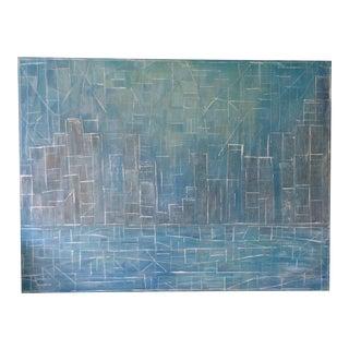 Original Abstract Acrylics Painting