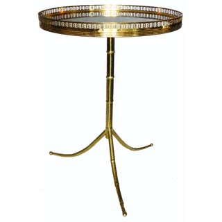 Maison Bagues French Gueridon, Gold