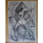 Image of Mexican Abstract (The Figure) Drawing