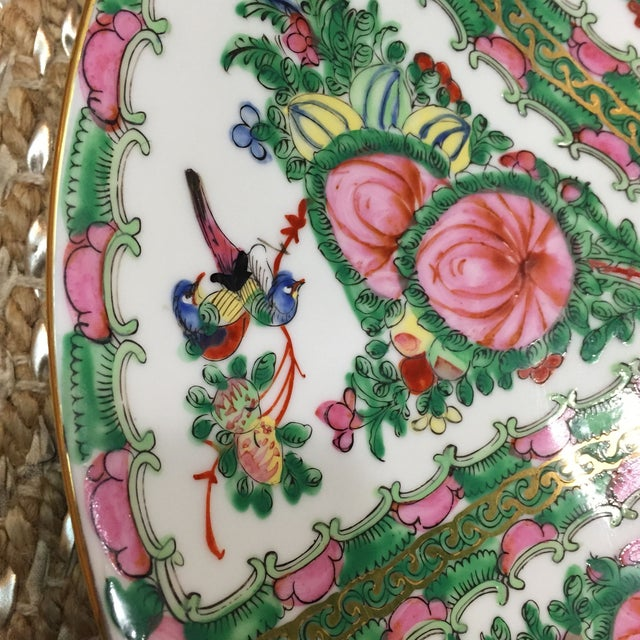 Vintage Japanese Hand Painted Floral Bowl - Image 4 of 6