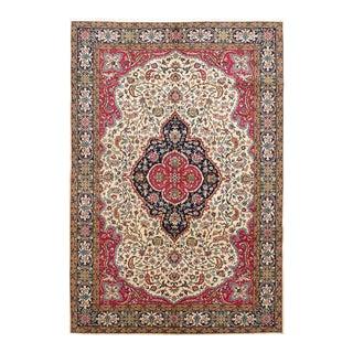 "Vintage Persian Rug, 6'8"" x 9'11"" feet"