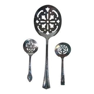 Silverplate Serving Spoons-3 Pieces