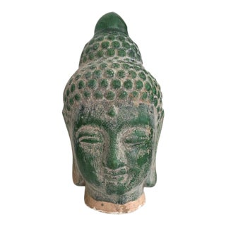 Emerald Green Buddha Statue