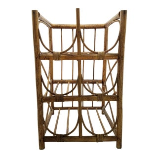 Retro Bamboo Wine Rack