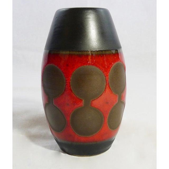 Rare Vintage German Modernist Vases - Set of 3 - Image 4 of 6
