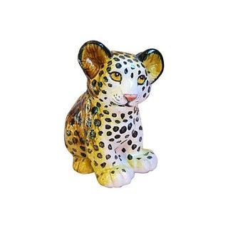 Mid-Century Italian Midcentury Safari Cheetah Cub