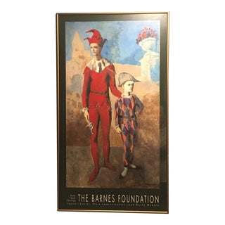 The Barnes Foundation Picasso Framed Exhibition Poster - Acrobat & HarlequinThe Barnes Foundation Picasso Framed Exhibition Poster - Acrobat Harlequin