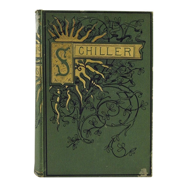 Poems & Ballads of Schiller, 1880 - Image 1 of 6