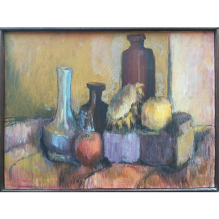 Mid-Century Still Life Painting by Joan Adams