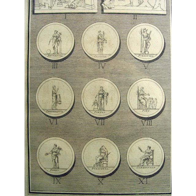 1755 Engraving Roman Medallions - Image 6 of 6