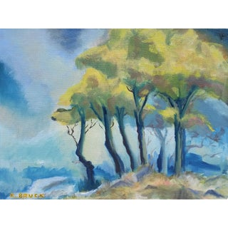 Trees in the Mist Landscape