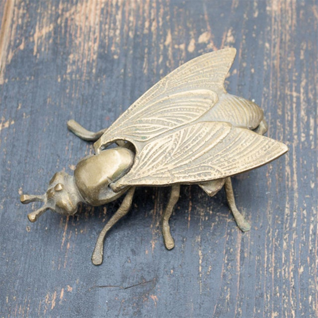 Image of Vintage Brass Bee Ashtray