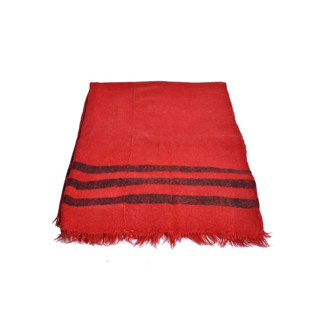 Image of Vintage Southwest Wool Rug - 6' x 8'