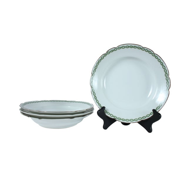 Image of French Limoges Bowls - Set of 4