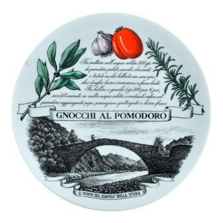 Piero Fornasetti Recipe Plate Piatti Tipici #1