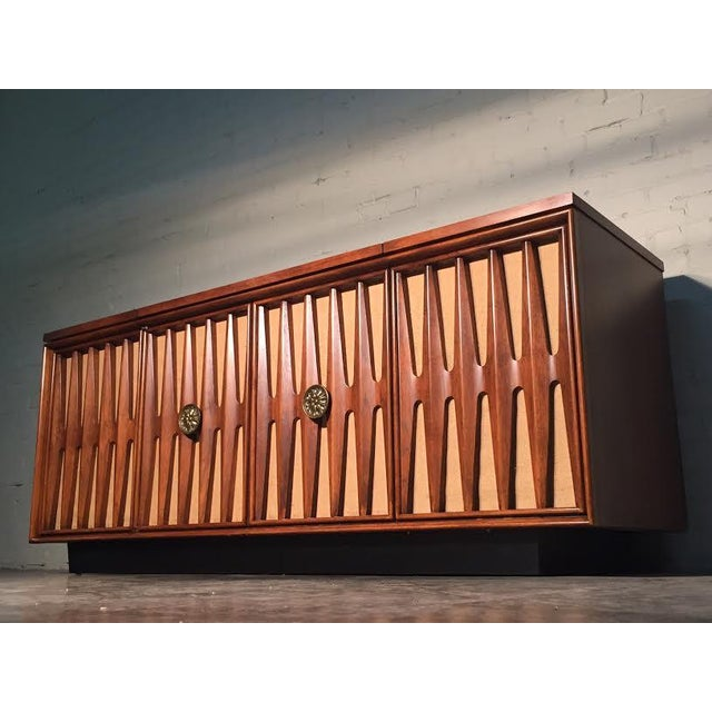 Mid-Century Modern Stereo Console/Credenza - Image 2 of 11