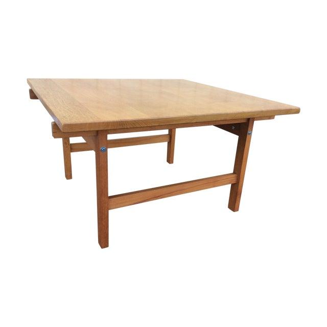 Hans Wegner Andreas Tuck Oak Coffee Table Chairish