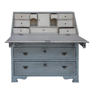 Gustavian Style Writing Desk (#43-17)