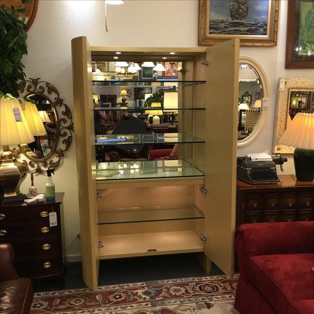 Custom Art Deco Gold & Ivory Bar or Display - Image 3 of 10