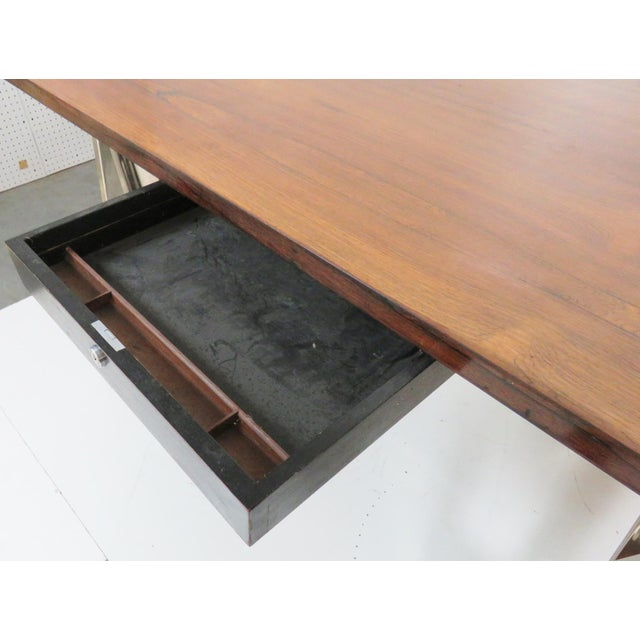 Modern Design Sawhorse Leg Desk - Image 3 of 6