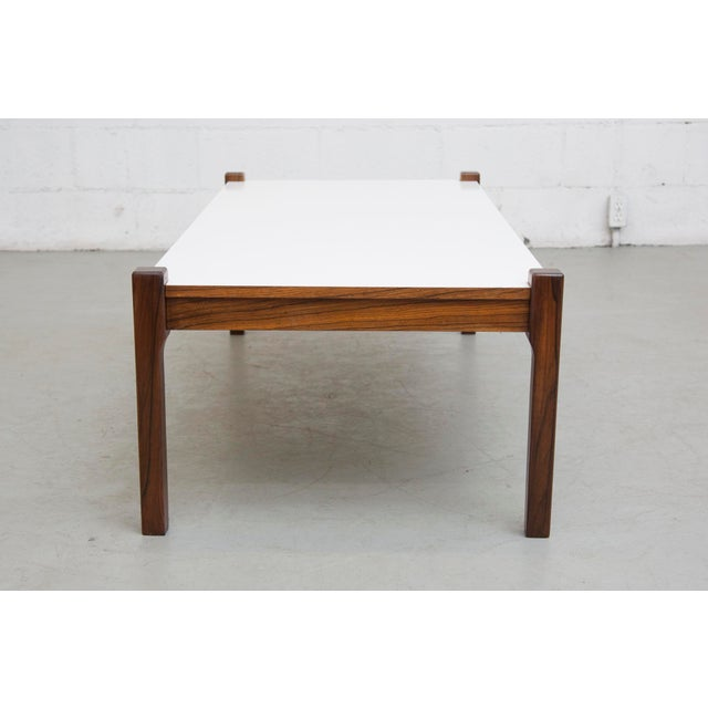 Teak and formica coffee table chairish Formica coffee table