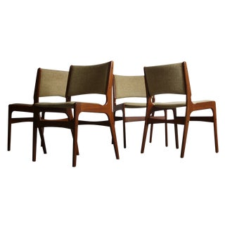 Johannes Andersen Teak Dining Chairs - Set of 4