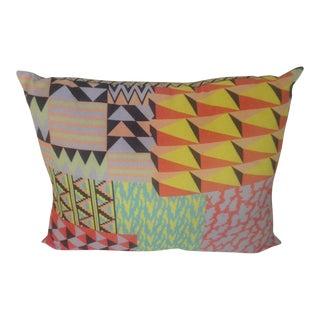 Color Block Ok Go Pillow