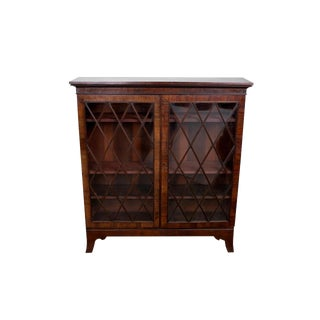 Vintage Glass Doors Cabinet
