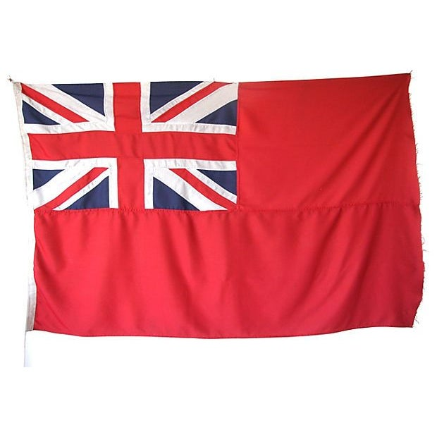 1950s British Civilian Vessel Ensign Flag - Image 3 of 3