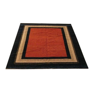 Color Blocked Gabbeh - 7' x 9'