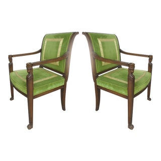 Cocheo Bros, Fine Quality Chairs - A Pair