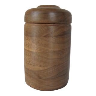 Round Turned Wood Box